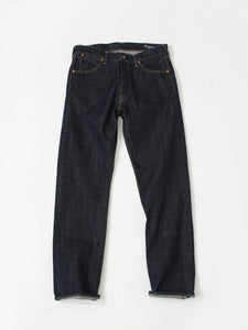 Supima Organic Ai-Indigo Denim 0916 One Wash in Indigo