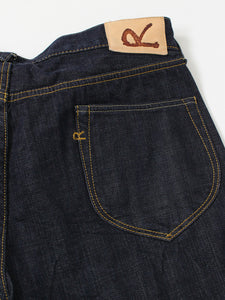 Supima Organic Cotton Ai-Indigo 0916 One Wash Denim Pants