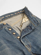 Okome Denim Front River Distressed Pants