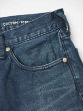 Okome Cotton Nando x Nando Front River Distressed Denim Pants