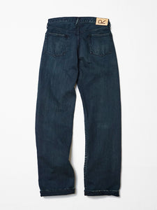 Nando x Nando Front River Distressed Denim Pants