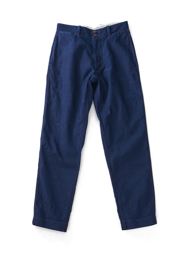 Okome Yoko Shusu Work 3 Pants in Indigo