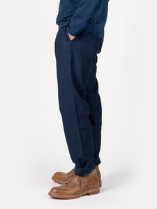 Biaude Indigo Cotton Work Pants