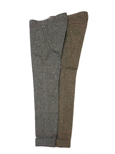 Cotton Tweed Easy Slacks