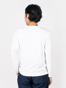 Men's Cotton Essential Long Sleeve T-Shirt