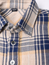 Indian Cotton Flannel Ocean Pull Over Shirt