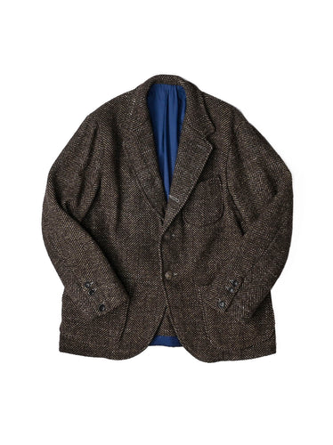 Tweed Melton Wool Asama Jacket