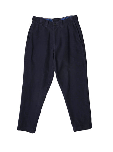SA Atsu Atsu Cotton Flannel Soroe Pants in navy