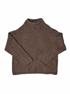 45 Star Cashmere Umahiko Sweater in brwon