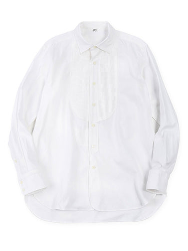 Oxford Pintuck Shirt in White