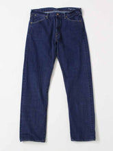 Supima Organic Ai-Indigo Denim 1216 in Distressed Indigo