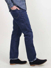 Supima Organic Cotton Ai-Indigo 1216 Distressed Denim Pants
