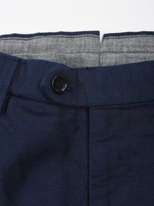 Men's Indigo Cotton Pants