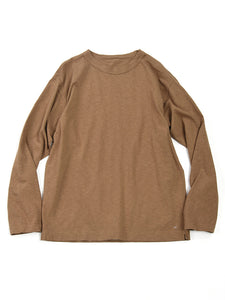45 Star Long Sleeve T-Shirt in Beige