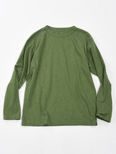 45 Star Long Sleeve T-Shirt in Green