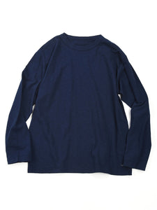 45 Star Long Sleeve T-Shirt in Navy
