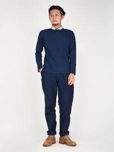 Indigo 45 Star Cotton Long Sleeve T-Shirt