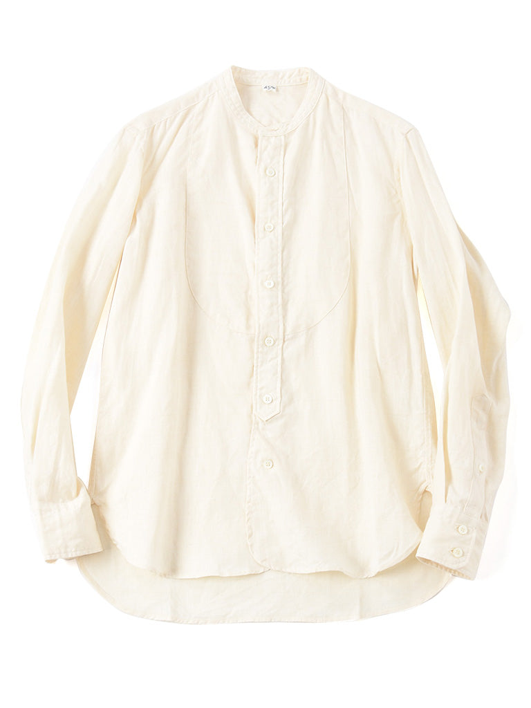 Majotae 908 Stand Shirt in Natural color