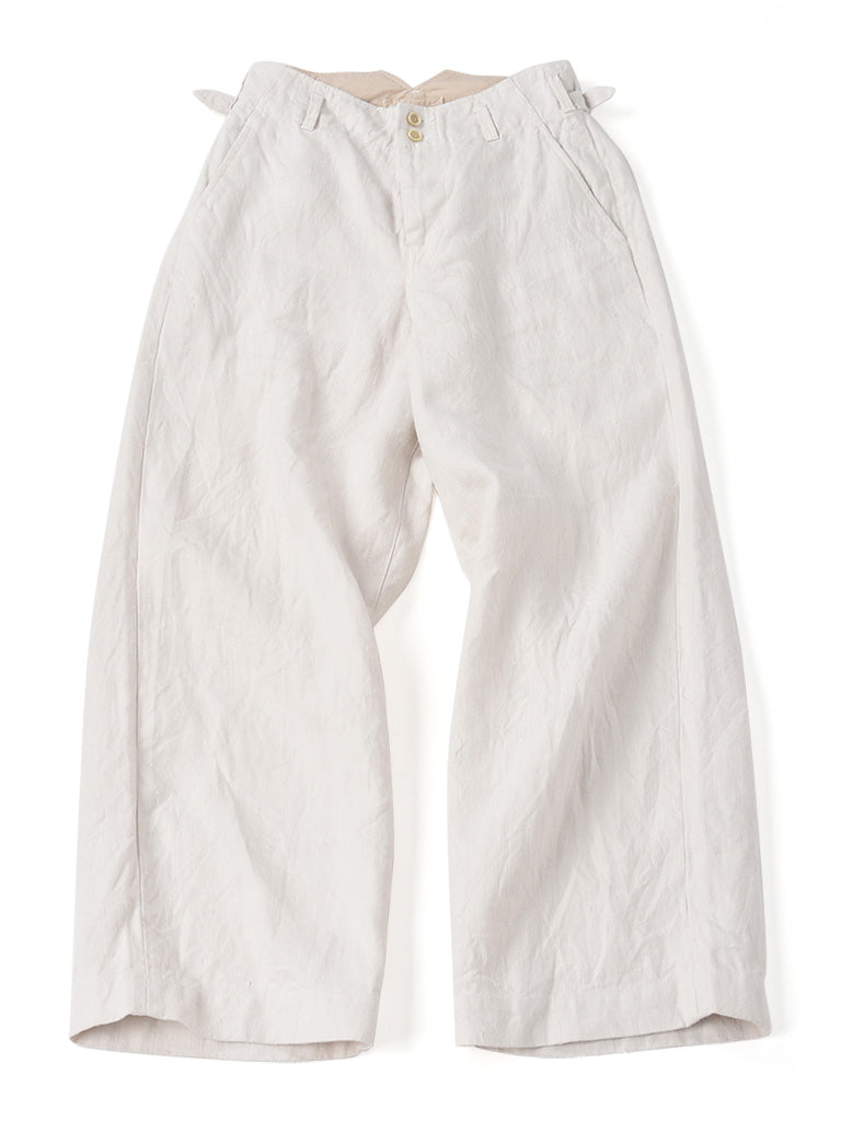 Duck Majotae Pants in White