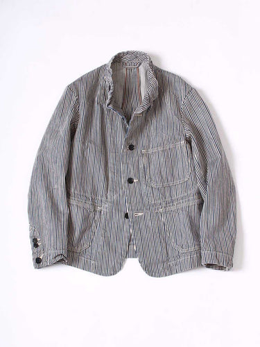 hickory stripe coverall