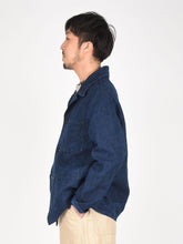 Unisex Indigo Linen Duck 908 Cover All