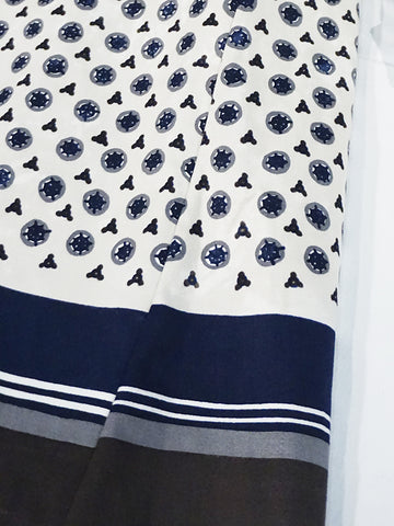 Mole Skin Komon Print Dress