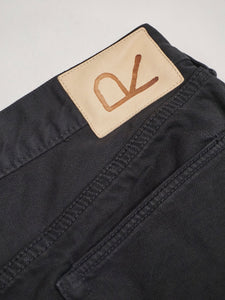Okome Cotton Garment Dye 5 Pocket Denim Pants