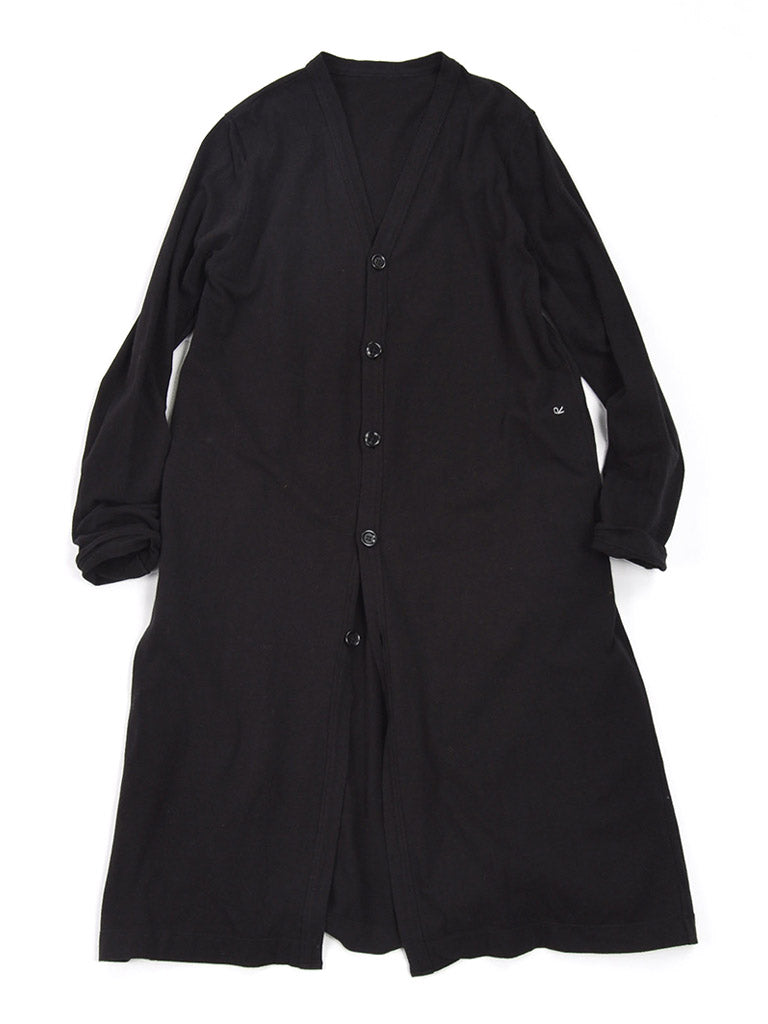 Bear Tenjiku Long Cardigan in Black