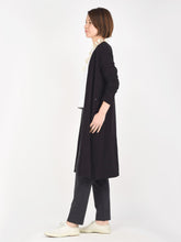 Bear Cotton Long Cardigan