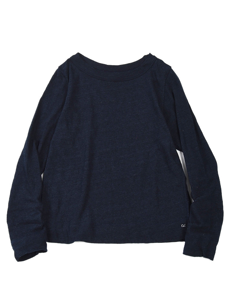 Indigo Zimba Super Gauze Square T-Shirt in Ai Nando