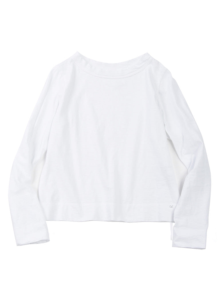 Zimba Tenjiku 45 Star Long Sleeve T-Shirt in White