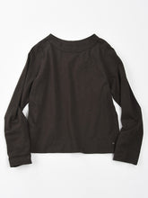 Zimba Tenjiku 45 Star Long Sleeve T-Shirt in Sumi Black