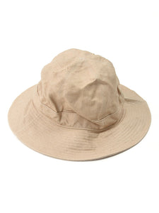 Linen Duck Hat in Light Linen