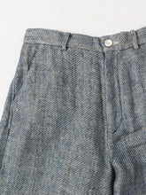 Double Woven Linen Denim Pants