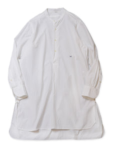 Damp Cotton 908 Unisex Goo Goo Long Sleeve Shirt in white