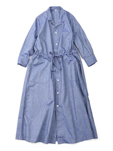 Oxford Shirt Dress in Chambray