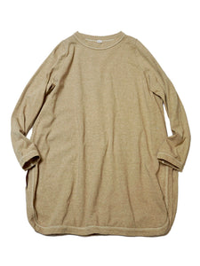 US Thick Tenjiku Cotton Tunic in beige