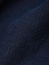 Women's Indigo Linen Dress