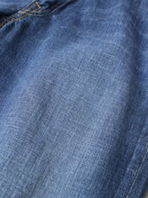 Indigo Distress Denim Akane