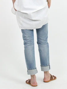 Hikohime Distress Denim Pants