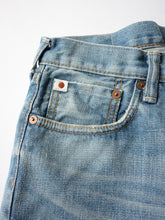 Hikohime Cotton Distressed Denim Pants