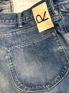 Okome Cotton Umihikohime Distressed Denim