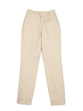 Cotton Linen Hakeme Stretch Pants