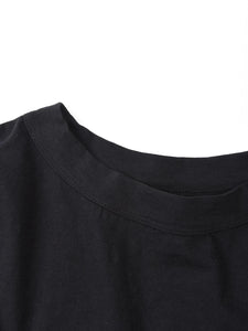 Cotton Big 3/4 Sleeve T-Shirt