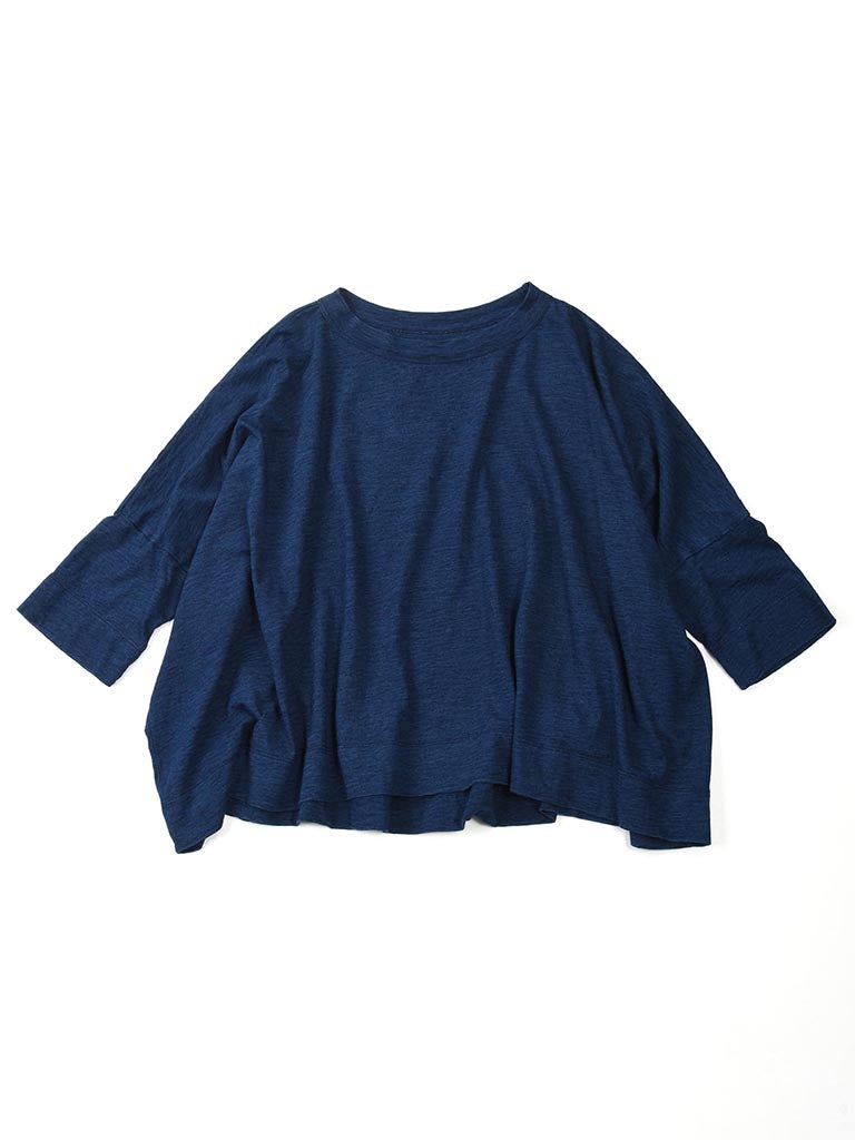 Indigo Zimba Big T-Shirt in biaude