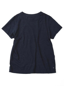 Indigo Zimba 45 Star T-Shirt in Indigo