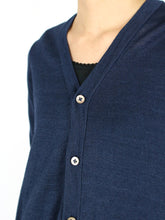 Indigo Gima Long Cardigan