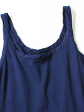 Indigo Cotton Camisole