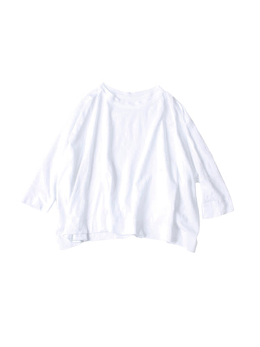 Super Gauze Big T-shirt in White