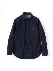 Indigo Weather 908 Work Shirt in Indigo